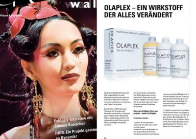 Geschädigtes Haar mit OLAPLEX reparieren lassen
