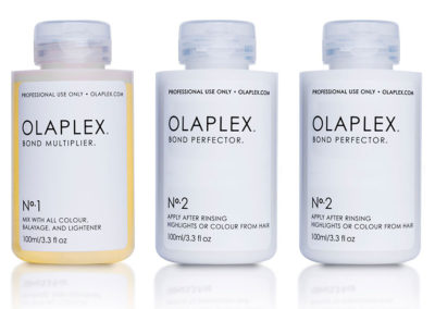 Die drei Phasen von OLAPLEX bei CreaStile